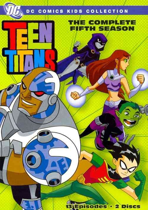 TEEN TITANS:COMPLETE FIFTH SEASON BY TEEN TITANS (DVD)
