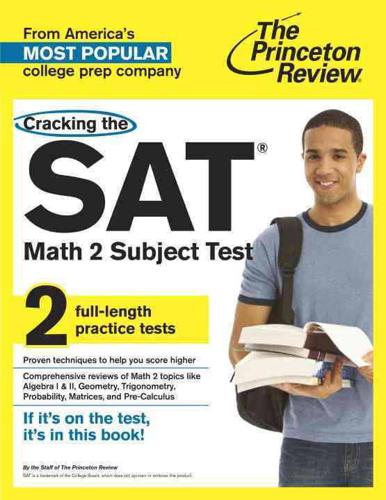 Princeton Review Cracking the Sat Math 2 Subject Test By Princeton Review (COR)